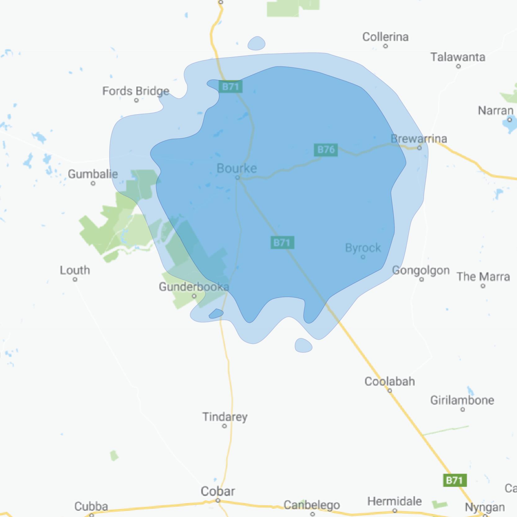 bourke map