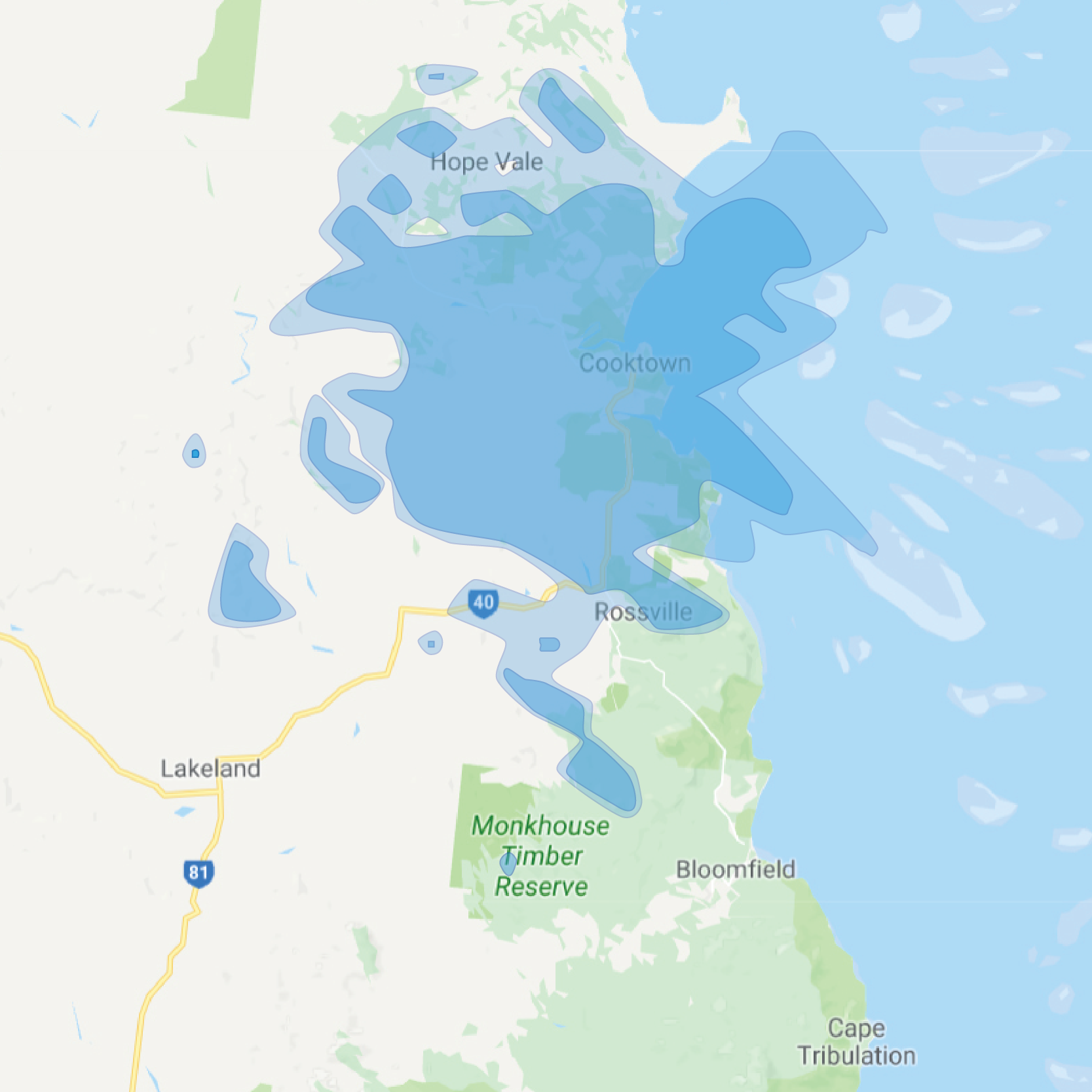 cooktown map