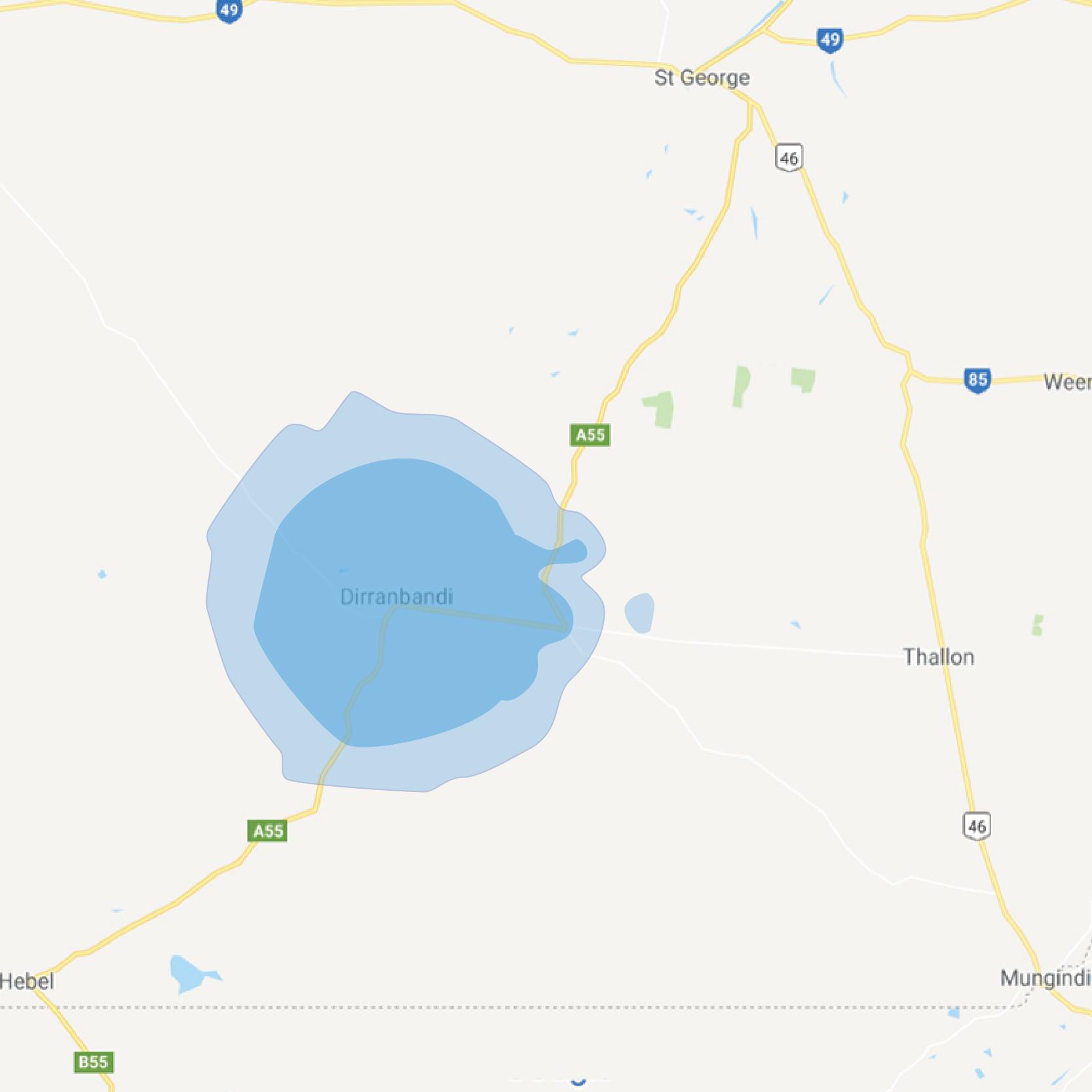 dirranbandi map